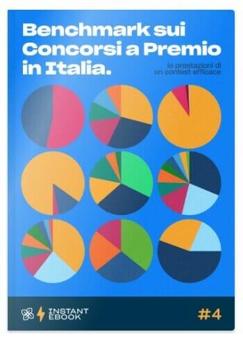 benchmark sui concorsi a premio - analisi e statistiche sui contest - ebook gratis - leevia academy - cover