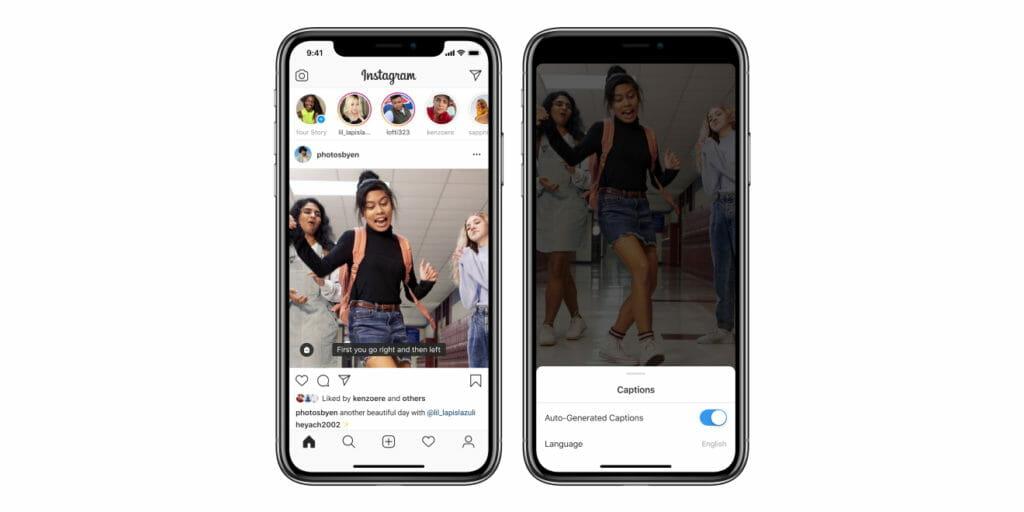 news instagram - Instagram aggiungerà automaticamente sottotitoli basati su AI per IGTV
