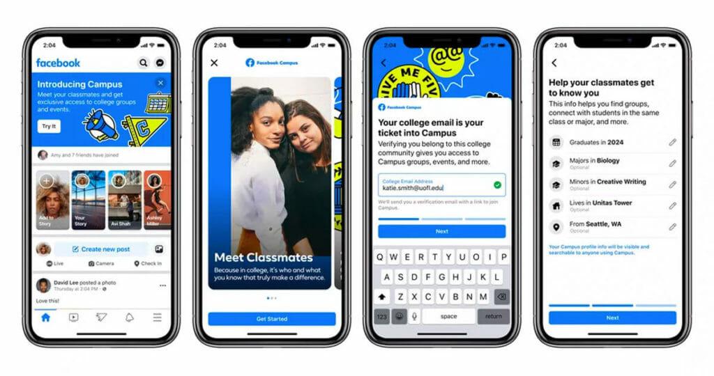 news facebook - Il vecchio Facebook torna tra noi. Benvenuto Campus