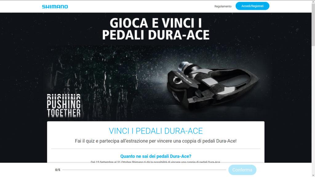 quiz shimano italia pedali dura-ace