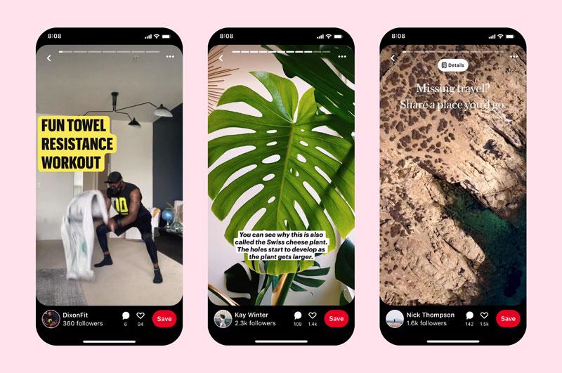 Pinterest introduce le Pin Stories ed altre funzionalità per i Creator