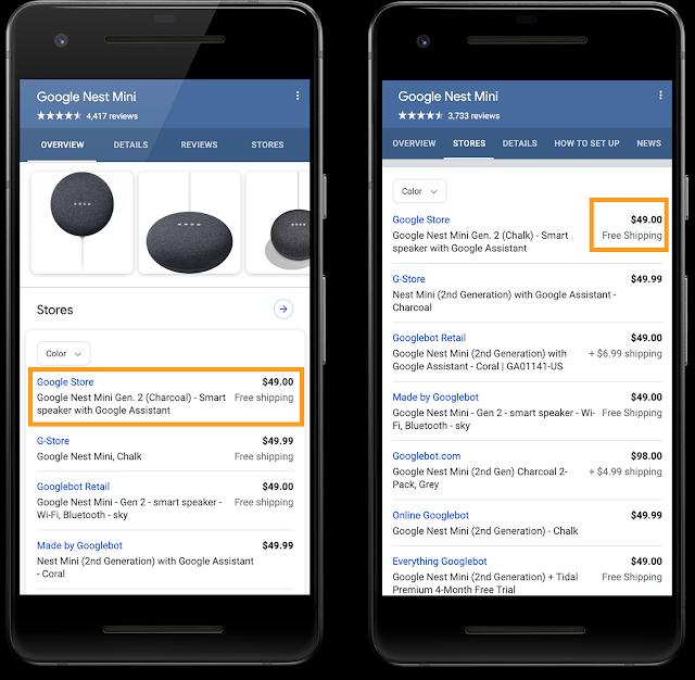 Arriva un nuovo markup Google per i dettagli di spedizione