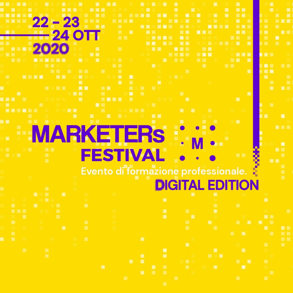 Marketes Festival 2020: l'evento di formazione è digital