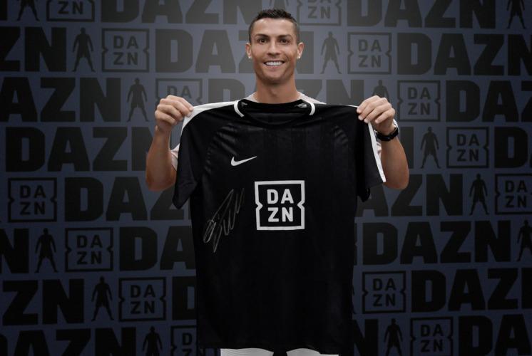 Ronaldo brand ambassador di Dazn