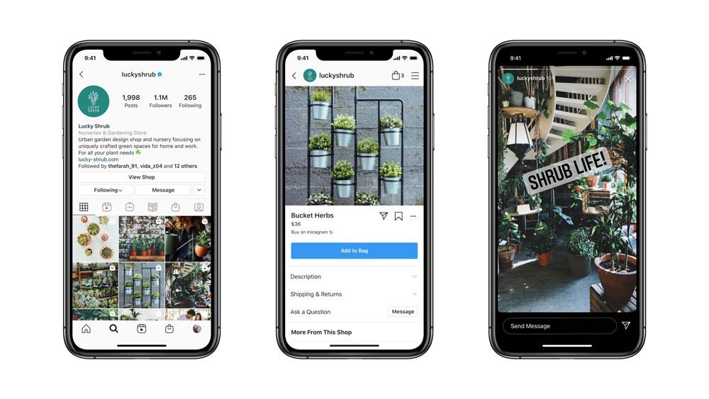 L'API di Facebook Messenger supporta ora la messaggistica Instagram