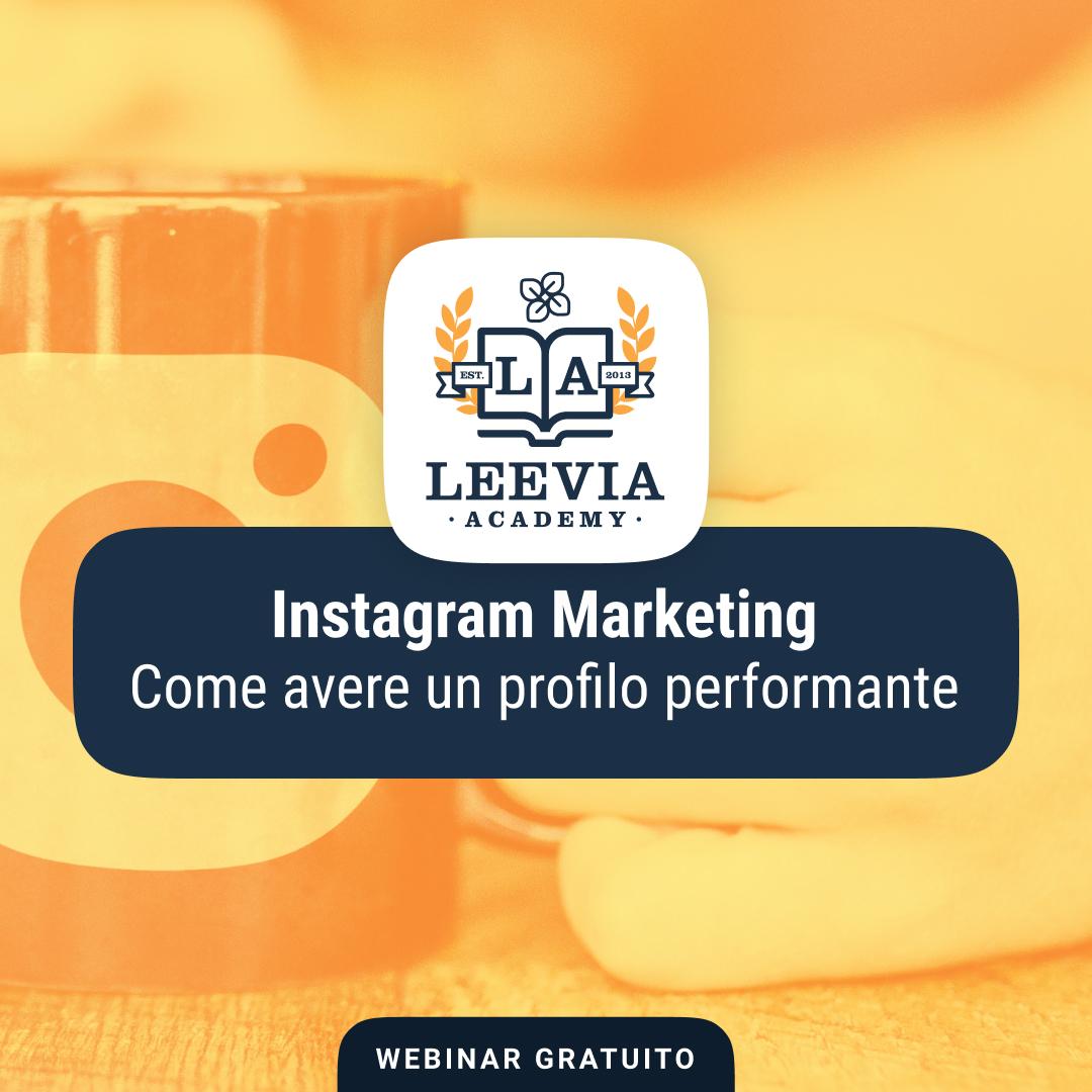 [Webinar gratuito] Instagram marketing spiegato da Giacomo Lucarini