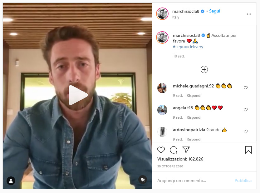 sepuoidelivery sport marketing instagram post marchisio