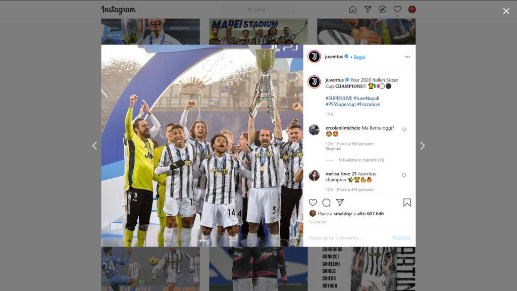 Instagram Juventus