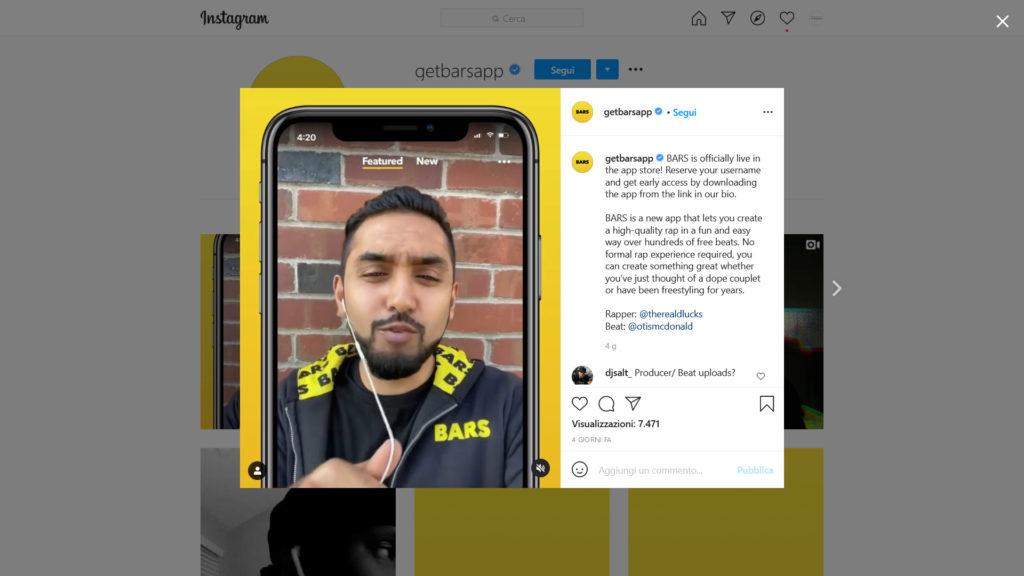 Facebook BARS: la nuova app sperimentale per aspiranti rapper