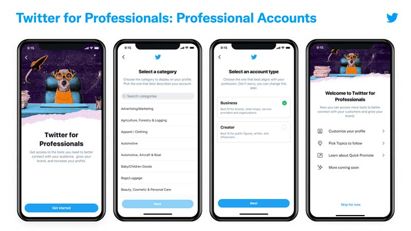 account business twitter